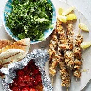 Grilled-chicken-souvlaki-recipe