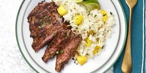 chili-steak-with-hawaiian-rice