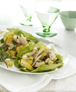 mango-chicken-lettuce-wraps